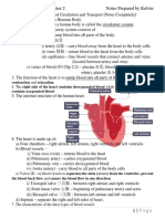 Science-Form 3-Chapter 2 Blood Circulation and Transport By Kelvin
