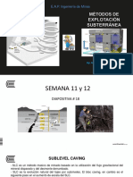Métodos Subterráneos en diapositivas
