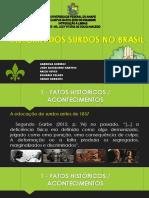 História Dos Surdos No Brasil