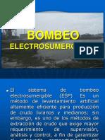 Bombeo Electrosumergible (Esp)