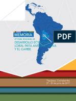 Memoria_2nd Foro Regional de DEL Para America Latina y El Caribe