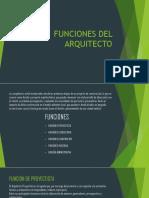 Funciones Del Arquitecto