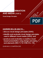 Media and Information Literacy (MIL)- Visual Information and Media (Part 2)