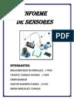 Informe de Sensores