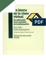 En busca de La Clase Virtual