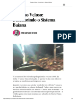 Veloso - Descobrindo o Sistema Baiana
