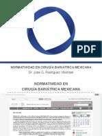 Normatividad Mexicana de Cirugia Bariatrica