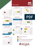 Calendario 2017 18