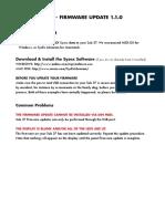 Sub 37 Update Instructions v1.1.0