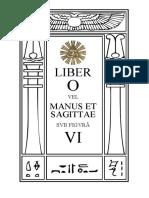 Pt 0006 Liber O Vel Manus Et Sagittae