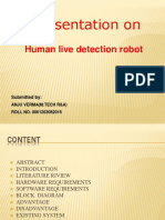 Human Detection Ppt