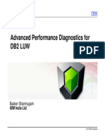 DB2 Advance Performance Monitoring