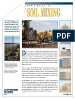 Hayward Baker Dry Soil Mixing Brochure