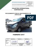 Tot-ssl-pro-006 Procedimiento Para El Mantenimiento de Vehiculos2.Doc