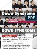 Down Syndrome Slide -Ela