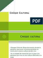 Estres y Choque Cultura