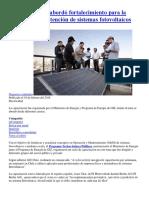 20180219 Taller Abordó Fortalecimiento Para La Operación y Mantención de Sistemas Fotovoltaicos
