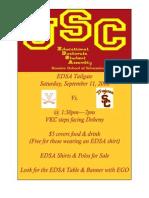 EDSA Tailgate 9-11