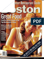 The Making of a Restaurant-Boston mag Jan 1997