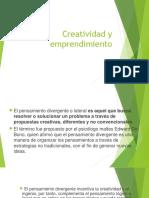 Creatividad y Emprendimiento