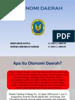 Presentasi Otonomi Daerah