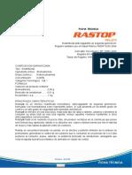 Ficha Tecnica Rastop Pellet