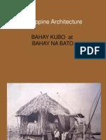 Philippine Domestic Architecture