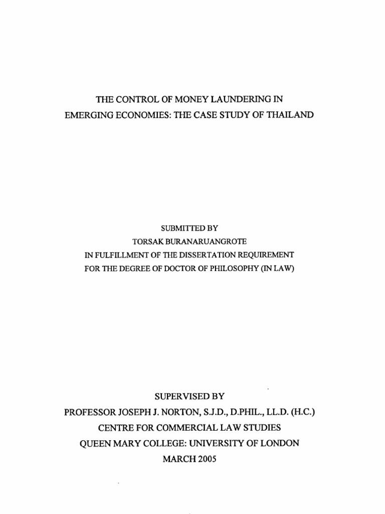 Thesis on money laundering best paper ghostwriting website uk