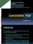 RESERVORIO - ALMACENAMIENTO