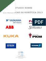 Estadistica Robotica 2013