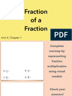 4.1a Fraction of a Fraction