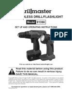 Manual drill master 91396
