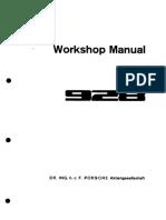 Porsche 928 Factory Manual - Volume 5