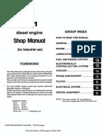 Mitsubishi 6d14!15!16 Workshop Manual 335 Pages