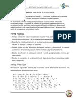 Guía Del Guia Del Segundo Examen de Álgebra Lineal_2016