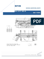Tadano Faun ATF 60-4  Brochure.