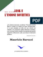 La Gosbank e l'Urss Di Maurizio Barozzi