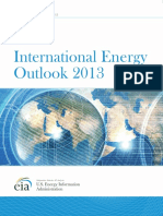 International Energy Outlook 2013