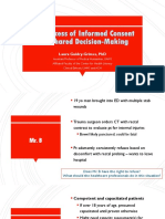 the process of informed consent and sdm lgg