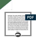 Goose Island Brewpub