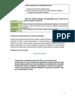 Gestion h. Informe Analisis de Valores Mision y Politicas Organizacionales