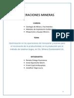 Proyecto Mina Condestable - Maquinaria y Equipo