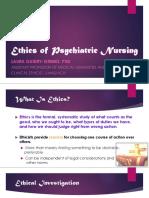 ethics of psychiatric nursing lgg