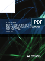 PP the Three Lines of Defense in Effective Risk Management and Control