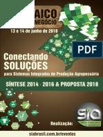Proposta Mosaico Do Agronegócio 2018