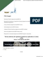 SIGEDCO - Diplomado_ Temas Selectos de Ingeniería Geotécnica Aplicados en Obras Civiles