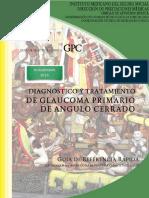 DIAGNOSTICO Y TRATAMIENTO DE GLAUCOMA PRIMARIO DE ANGULO CERRADO