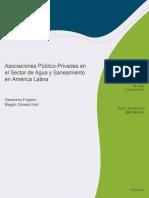 Asociaciones Público-Privadas en El Sector de Agua y Saneamiento en América Latina