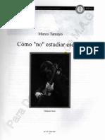 Marco Tamayo-Como No Estudiar Escalas