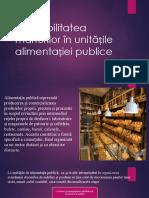 Contabilitatea Mărfurilor În Unitățile Alimentației Publice